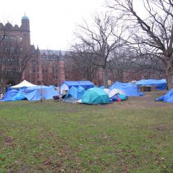 New Haven Occupy Protesters Refuse to Leave
