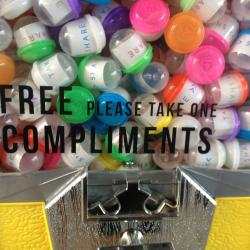 Free Compliment Dispenser Comes to Manhattan this Weekend