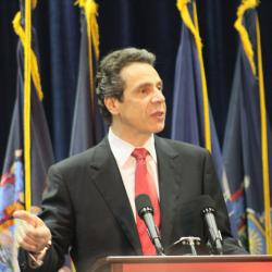 "Governor Cuomo: ""We get threats all the time"""