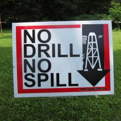 Groups Deliver Cases Of Comments On NY Fracking Regulations