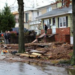 NYC Mayor announces Home-Repair Program to Help Storm Victims