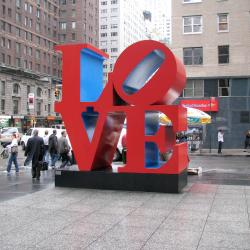 Cityscape:  Love is in the Air