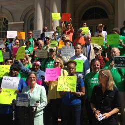 NYC Park Advocates Call on Candidates
