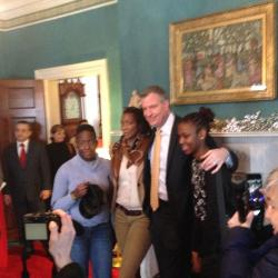 Mayor De Blasio Hosts Open House at Gracie Mansion