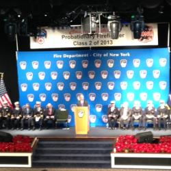 New York City's Most Diverse Class of Firefighters in History Graduates