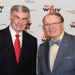 Fordham Conversations:  News Veteran Sam Donaldson Discusses His Career And How The News Industry Has Evolved