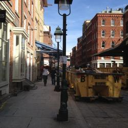 Lower Manhattan's South Street Seaport Still Far From Back To Normal
