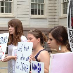 Some NYC Women's Groups Not Happy with Spitzer's Run for Comptroller