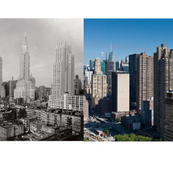 Cityscape: New York Then and Now