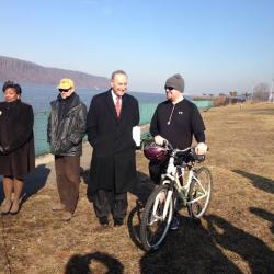 Senator Schumer Backs New Pathway from Manhattan to Yonkers