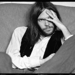 Neil Young photo by Gary Burden