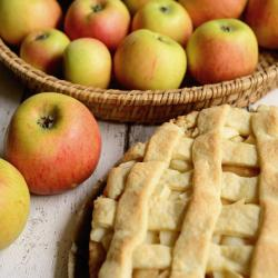 Apple pie (photo courtesy of Pixabay)