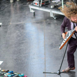 Jim James at Newport Folk Festival 2013 (Adam Kissick/For NPR music)