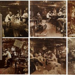 In Through the Out Door album cover (collage by Laura Fedele)